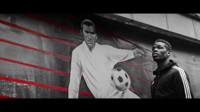 Paul Pogba star du film d'adidas sur la Predator