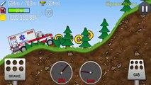 Hill Climb Racing: Police Car, Ambulance - Hill Climb Racing games - Cartoon Сars for kids
