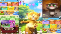✿ Games for Kids Learn Colors with Talking Tom Talking Angela Talking Ben My talking Tom