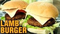 Lamb Burger Recipe | How To Make Lamb Burger | Burger Recipe | Perfect Lamb Burger by Neelam Bajwa