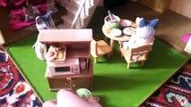 Мои обустроенные дома Sylvanian Families(Сильваниан фэмилис) Дом со светом и 3х-Этажный дом