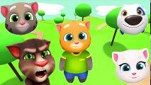 ✿ Wrong Heads Talking Tom and Friends Talking Tom Talking Angela Talking Ginger Talking Hank
