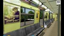 OpenBVE HD: Chasing NYC Subway R179 Z Skip-Stop Express Train