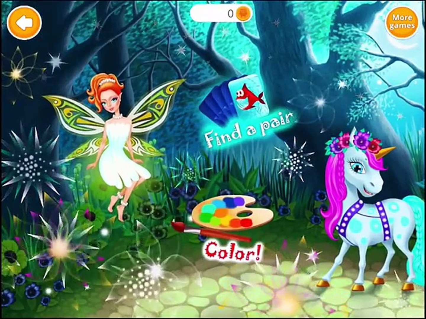 ✿ Сказочный Салон красоты   Fairyland Beauty Salon   Dragon, Unicorn, Mermaid & Fairy Stylist