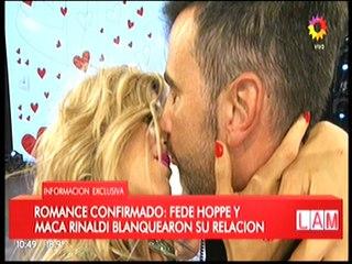 Federico Hoppe habla de su relacion con Maca Rinaldi
