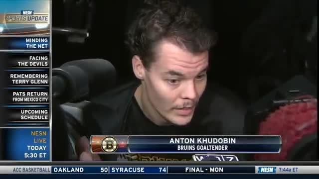 Tuukka Rask And Anton Khudobin On Playing Time For Bruins
