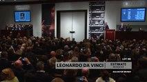 Vivez la vente aux enchères de la peinture la plus chère de l'histoire par Léonard de Vinci