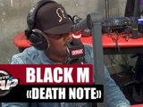 """Black M """"Death Note"""" #PlanèteRap"""