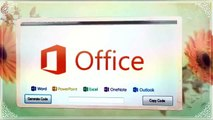 Microsoft Office 2013 Product Key 100% working