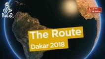 The route / El recorrido / Le parcours - Dakar 2018