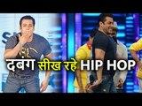 Salman Khan Learning HIP HOP for Remo D'souza's Dancer Dad
