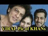 Shahrukh Khan Salman Khan New Viral Photo from Anand L Rai's film Set