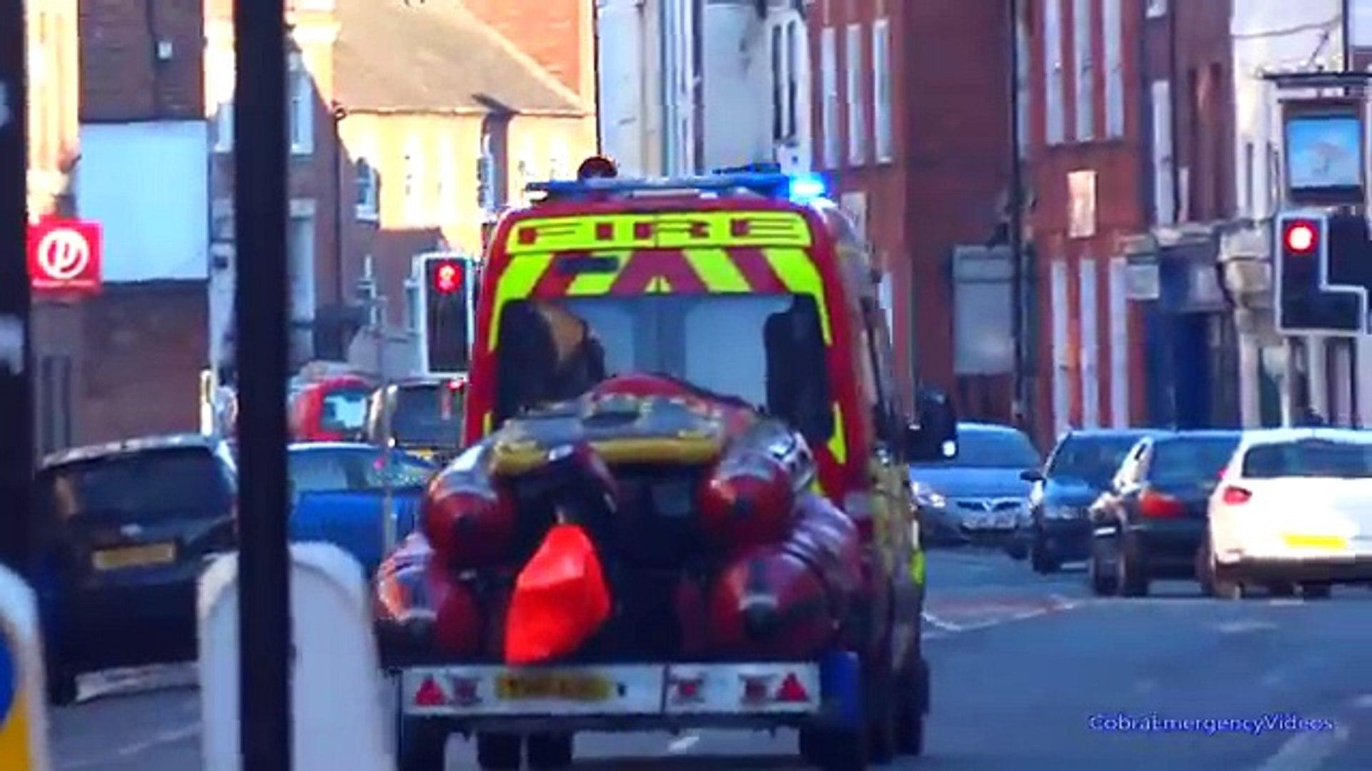 Fire Trucks Responding - BEST OF new -