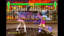 Fighting Vipers 2 (2001) EXTENDED Honey Playthrough VS ALL 14 Charers (60 FPS) SEGA Dreamcast