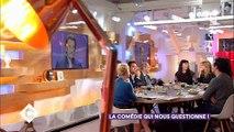 """Les larmes d'Amanda Sthers sur le plateau de """"C à vous"""" en évoquant le combat de Johnny Hallyday contre le cancer"""
