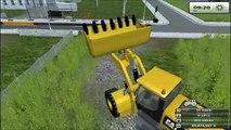 Chantier / Travaux / Baustelle Partie1 : Farming Simulator new