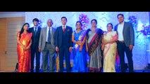 Reception Bhavana weds Vamsi Krishna shoot by Sanskrithi events &photography by Raj