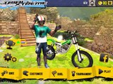 TRIAL XTREME 4 MOTOCROSS Gameplay Android / iOS Special Stages Multiplayer Hill Climb Racing