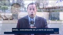 Israël: anniversaire de la visite d'Anouar el-Sadate