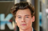 Harry Styles performs at the Victoria Secret Show in front on THREE exes.