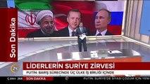 """Soçi""""de 3""""lü Suriye zirvesi başladı! işte ilk mesajlar"""