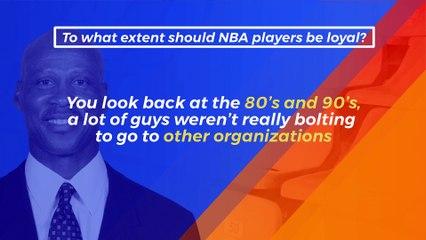 Is Loyalty Still Important in NBA Free Agency?