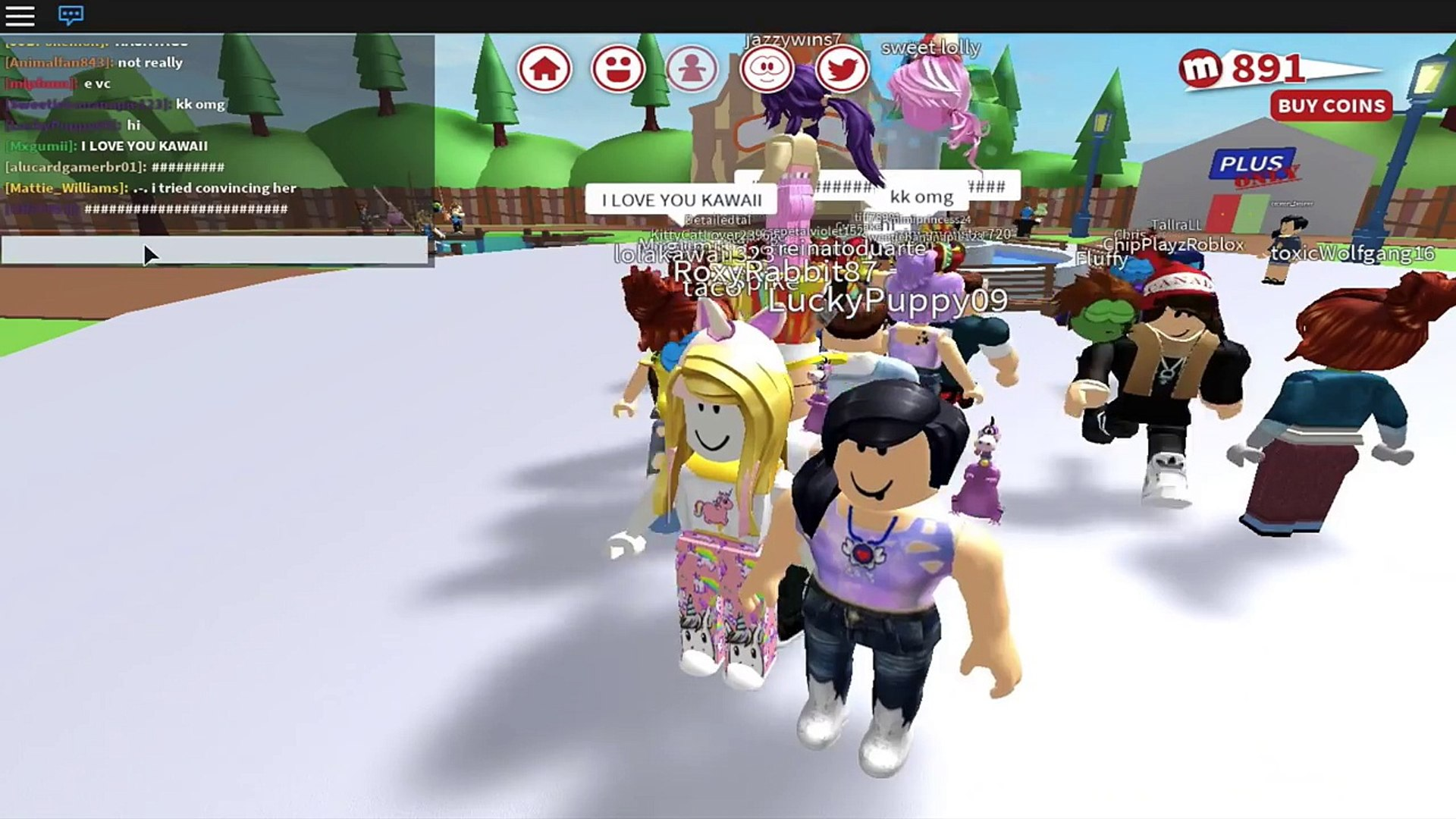 Roblox Adventures In Meepcity House Tour Party With Kawaii
