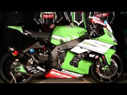 Kawasaki WSBK race bike vs Kawasaki street bike