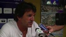 Istres bat Lens : analyse de l'entraineur du FC Istres José Pasqualétti (vidéo)