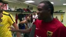 Martigues bat Fréjus Saint-Raphaêl 3 buts à 2. La réaction du Martégal N'Zinga (vidéo)
