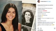 Cindy Crawford Posts School Pic Comparison With Daughter Kaia Gerber