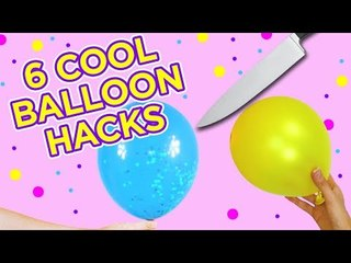 6 Cool balloon hacks to try at home