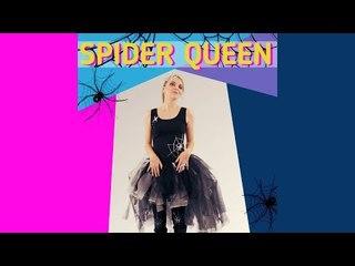 DIY Halloween Spider Queen costume