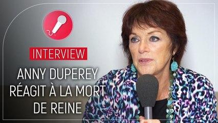 Une famille formidable : Anny Duperey réagit à la mort de Reine