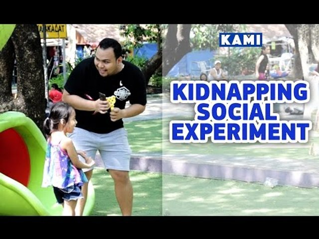 Kidnapping social experiment: Would your child leave with a stranger?