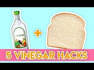Simply genious vinegar hacks