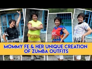 Talented mom creates Zumba outfits out of pre-loved items