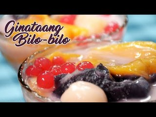 How to make Pinoy merienda Ginataang Bilo-Bilo  –  quick and easy recipe!