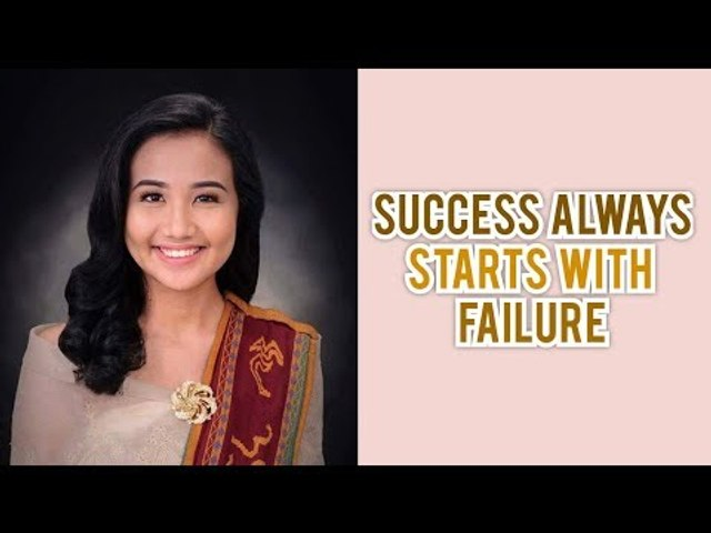 Success always starts with failure
