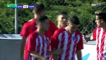 1-0 Giovanni Navarro Goal UEFA Youth League  Group C - 22.11.2017 Atlético Madrid Youth 1-0 AS Roma Youth