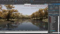 Creating a quick CRYENGINE Scene - Autumn River