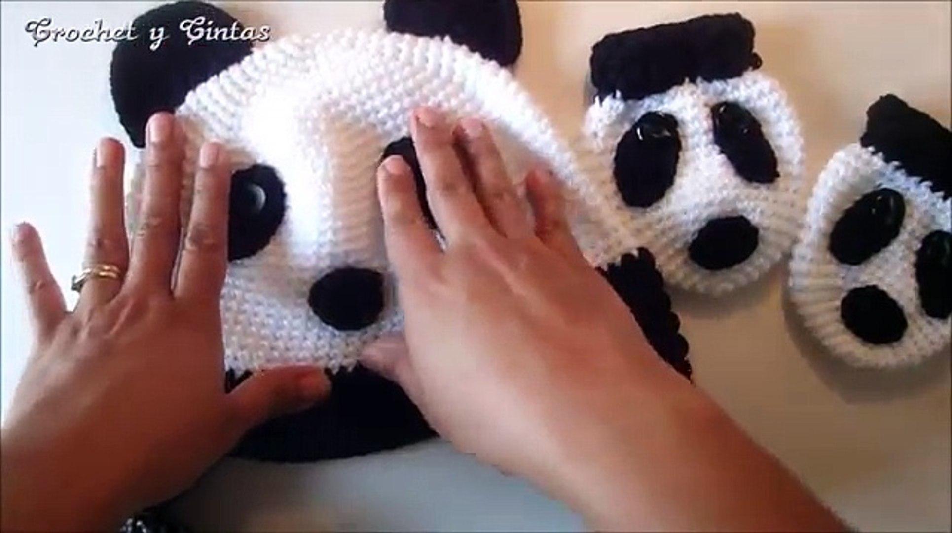 Panda Bear; CROCHET PATTERN; PDF | Oso de ganchillo, Amigurumi ... | 1080x1930