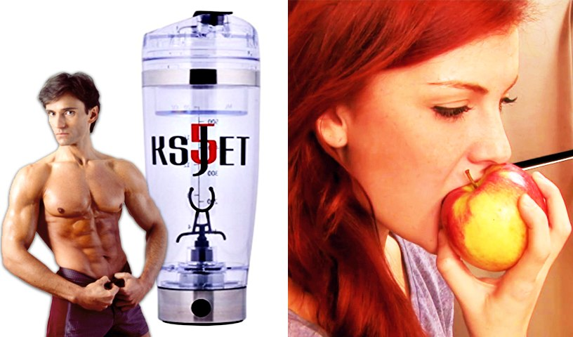 VORTEX SHAKER FOR PERFECT PROTEIN DRINKS & MACRONUTRIENT FOOD GROUPS    Fit Now with Basedow