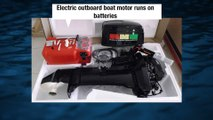 RC Boats MRP electric outboard motor - video dailymotion