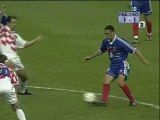 Francia 2-1 Croacia Mundial Francia 1998