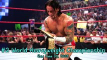 CM Punk 在 WWE 的冠軍生涯 (贏與輸) All Of CM Punk Championship (Wins & Losses) In WWE-7wd6DbwBKpw
