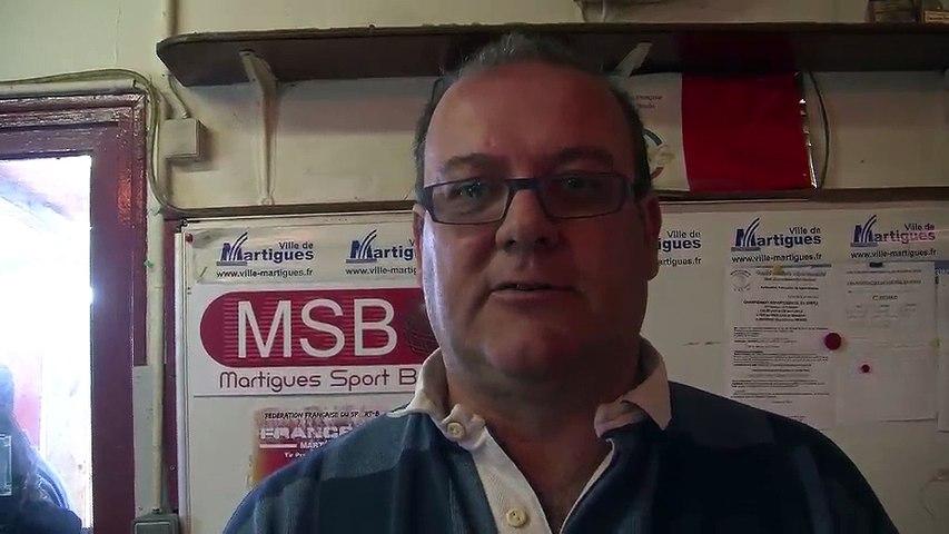 Pascal Hernandez président du Martigues Sport Boules | Godialy.com