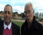 Le Maire de Martigues, Gaby Charroux est ravie de l'entente Martigues/ Port de Bouc