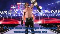 Seth Rollins 在 WWE 的冠軍生涯 (贏與輸) All Of Seth Rollins Championship (Wins & Losses) In WWE-zs-cshOzF2M