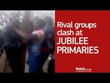 Rival groups clash at the Jubilee primaries in Eastleigh South Ward